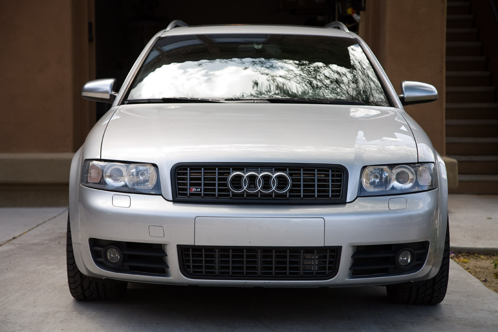 Another B6 Black Out Grille Thread Pix